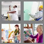 4 pics 1 word 7 letters painter