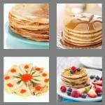 4 pics 1 word 7 letters pancake