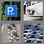 4 pics 1 word 7 letters parking