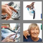 4 pics 1 word 7 letters phoning
