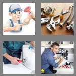 4 pics 1 word 7 letters plumber
