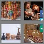4 pics 1 word 7 letters pottery