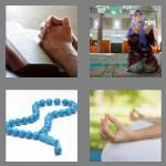 4 pics 1 word 7 letters praying