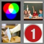4 pics 1 word 7 letters primary