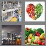 4 pics 1 word 7 letters produce