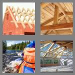 4 pics 1 word 7 letters rafters