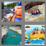 4 pics 1 word 7 letters rafting