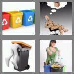 4 pics 1 word 7 letters recycle
