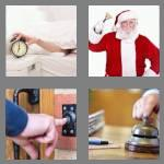 4 pics 1 word 7 letters ringing