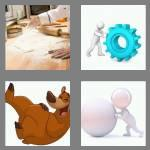 4 pics 1 word 7 letters rolling