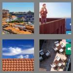 4 pics 1 word 7 letters rooftop