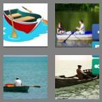 4 pics 1 word 7 letters rowboat