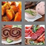 4 pics 1 word 7 letters sausage