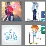 4 pics 1 word 7 letters scooter