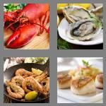 4 pics 1 word 7 letters seafood
