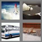 4 pics 1 word 7 letters shuttle