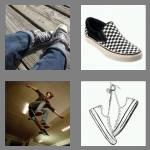 4 pics 1 word 7 letters sneaker