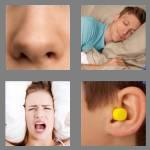 4 pics 1 word 7 letters snoring
