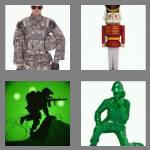 4 pics 1 word 7 letters soldier