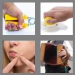 4 pics 1 word 7 letters squeeze