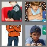 4 pics 1 word 7 letters sulking