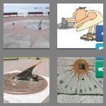 4 pics 1 word 7 letters sundial