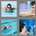 4 pics 1 word 7 letters swimmer
