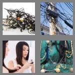 4 pics 1 word 7 letters tangled