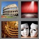 4 pics 1 word 7 letters theatre