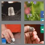4 pics 1 word 7 letters thimble