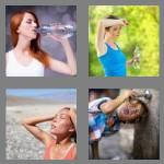 4 pics 1 word 7 letters thirsty