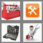 4 pics 1 word 7 letters toolbox
