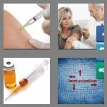 4 pics 1 word 7 letters vaccine