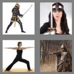 4 pics 1 word 7 letters warrior