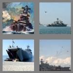 4 pics 1 word 7 letters warship