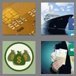 4 pics 1 word 7 letters wealthy