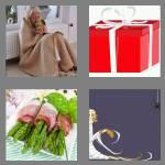 4 pics 1 word 7 letters wrapped