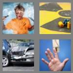 4 pics 1 word 8 letters accident