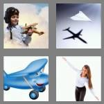 4 pics 1 word 8 letters airplane