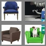 4 pics 1 word 8 letters armchair