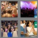 4 pics 1 word 8 letters audience
