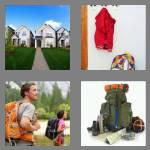 4 pics 1 word 8 letters backpack