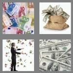 4 pics 1 word 8 letters banknote