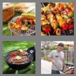 4 pics 1 word 8 letters barbecue