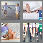 4 pics 1 word 8 letters barefoot