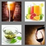 4 pics 1 word 8 letters beverage