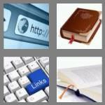 4 pics 1 word 8 letters bookmark