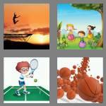 4 pics 1 word 8 letters bouncing