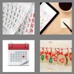 4 pics 1 word 8 letters calender