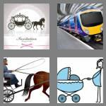 4 pics 1 word 8 letters carriage